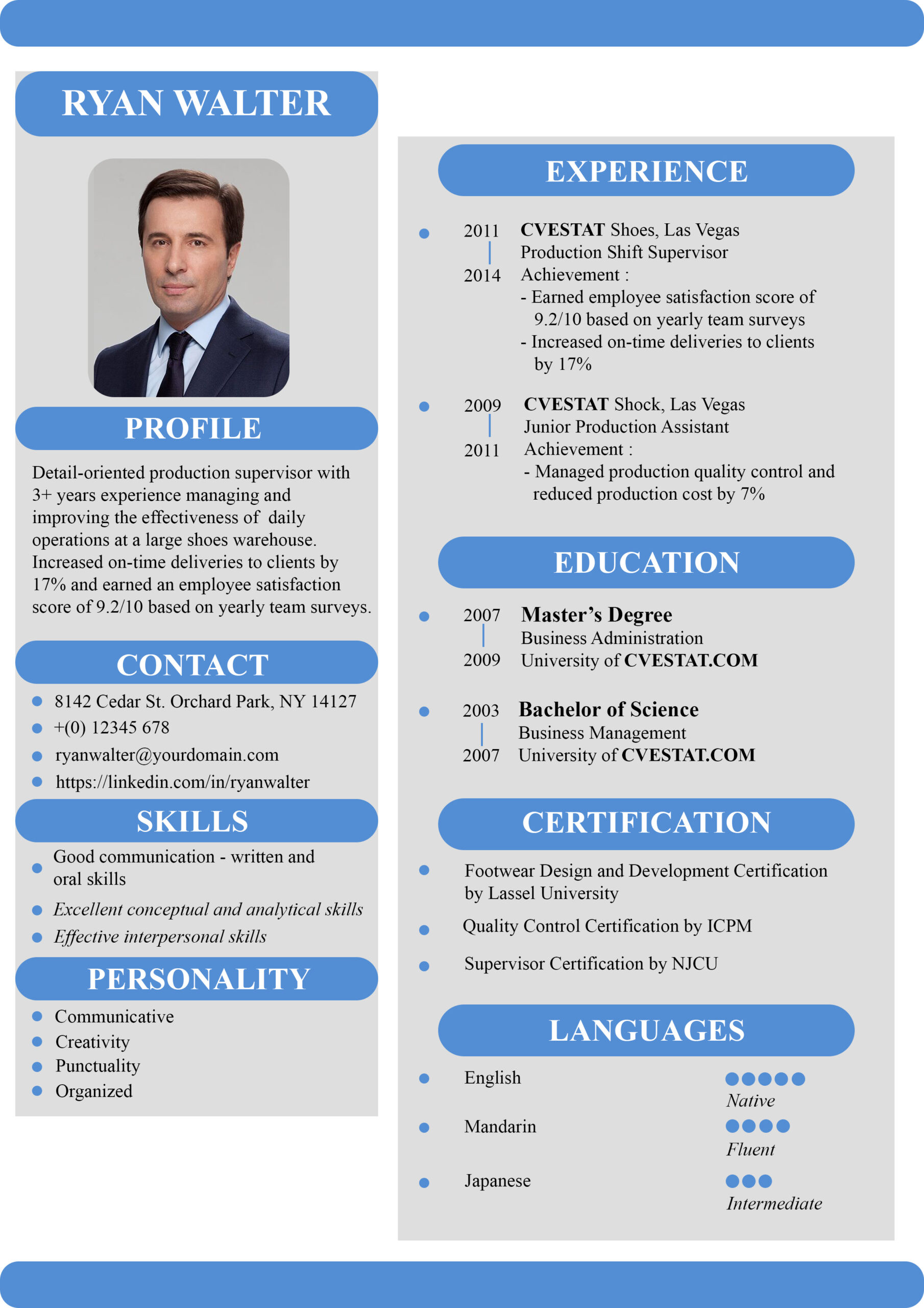 great resume summary examples for first job